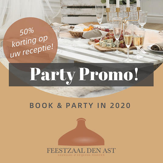 Feestzaal Den Ast • Party promo